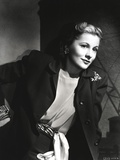 Joan Fontaine Looking Side Ways Pose