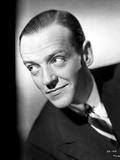 Fred Astaire Smirking in Formal Attire