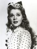 Alice Faye polka dot Upper Portrait