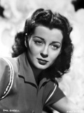 Gail Russell Posed in Collared Shirt