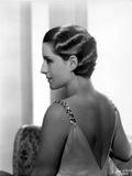Norma Shearer Portrait in Sexy Dress