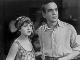 Al Jolson Looking Shocked with a Girl