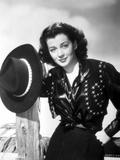 Gail Russell Posed in Western Outfit