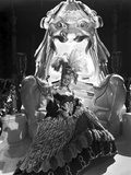 Norma Shearer Reclining in Ball Gown
