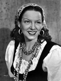 Gale Sondergaard smiling in Portrait