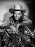 Roy Rogers smiling in Cowboy Outfit