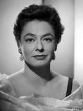 Ruth Roman Black and White Portrait