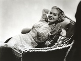 Alice Faye Lady in Couched Portrait