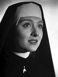 Celeste Holm on a Nun Attire Portrait