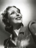 Loretta Young Look Up Black and White