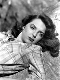 Julie London on a Checkered Top Portrait