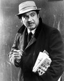 John Belushi in Black Coat With Hat