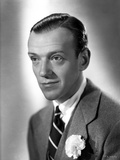 Fred Astaire Posed in Black and White