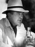 Albert Finney in White Suit With Hat
