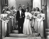 Ann Miller in Wedding Scene Portrait