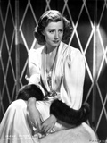 Irene Dunne on a Silk Dress Portrait