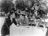 Abbott & Costello Posed in Outdoors