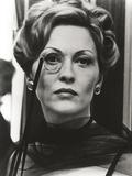 Faye Dunaway Wore Monocle in Portrait