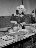 Roy Rogers standing in Cowboy Outfit