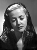 Martha Vickers Portrait wearing Veil