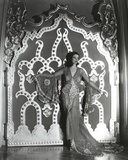 Loretta Young Big Door Lady Pose