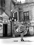 Ann Sheridan Dancing on the Street