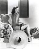 Paulette Goddard Posed in Sexy Top