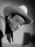 Roy Rogers Posed with Western Hat