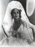 Dolores Del Rio Posed in Classic