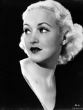 Betty Grable Posed in Black Dress