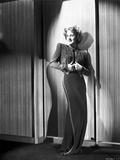 Norma Shearer Posed in Long Dress