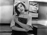 Patty Duke Looking Up on White Top