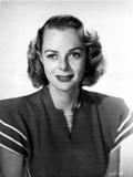 June Lockhart on a Dress Portrait