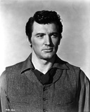 Rock Hudson Posed in Black Jacket