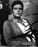 Jack Lord Posed in Military Dress