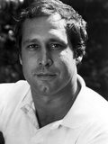 Chevy Chase Posed in White Shirt