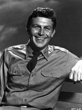 Andy Griffith Posed in White Polo