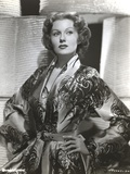 Rhonda Fleming wearing a Bathrobe