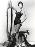 Ava Gardner Pose in Lingerie