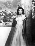 Gail Russell Posed in White Gown
