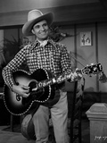 Gene Autry Playing the Guitar