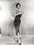Ava Gardner on a Dress Portrait