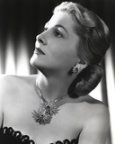 Joan Fontaine Side Ways Portrait