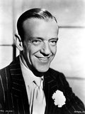 Fred Astaire Posed in Suit and Tie