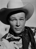 Roy Rogers Posed in Western Attire
