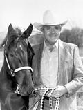 Dale Robertson with Horse Portrait