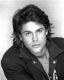 Rob Lowe in Black Coat Portrait