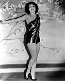 Clara Bow Posed with Sexy Dress
