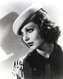 Loretta Young Lady Pose Side Way