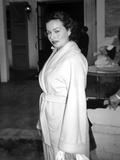 Jeanne Crain Posed in Classic